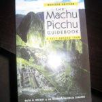 Machu Picchu Guidebook cover (book review)