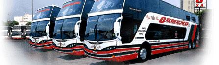 Ormeño Bus Company in Lima Peru